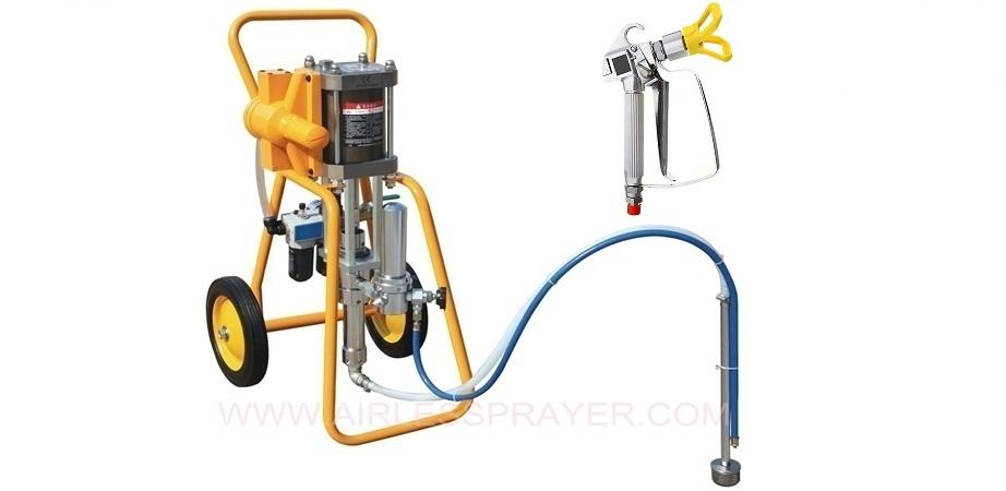 airless spray painting equipment telansen