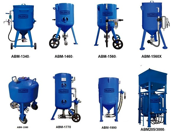 air blasting equipment