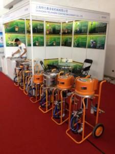 Airless Sprayer at Essen Welding Fair